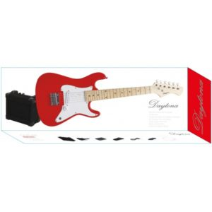 pack-guitarra-daytona-stratocaster-junior-roja